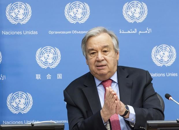 En la imagen, António Guterres, secretario general de la Organización de Naciones Unidas (ONU).