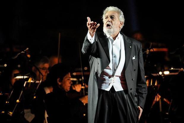 El tenor y director español Plácido Domingo.