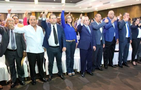 Declaración de los partidos de oposición ante la crisis política nacional.