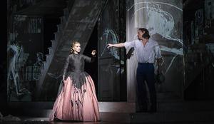 Escena de la opera Mozart, Don Giovanni