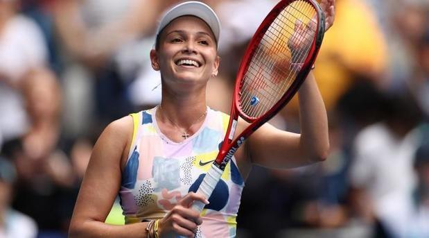 Croata Donna Vekic triunfa en primero ronda regreso Palermo Open.