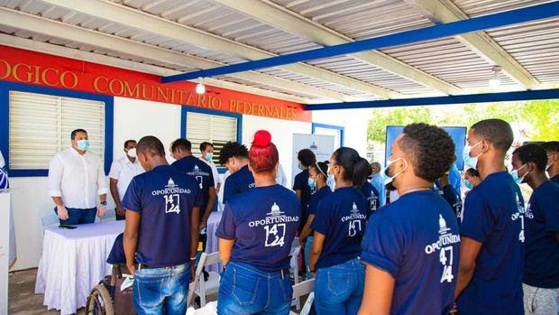 Programa Oportunidad 14-24 garantiza esperanza de empleos para jóvenes de la Región Sur del país