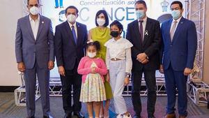 Primera dama anuncia construcción de una Unidad Oncopedriátrica en el Incart.