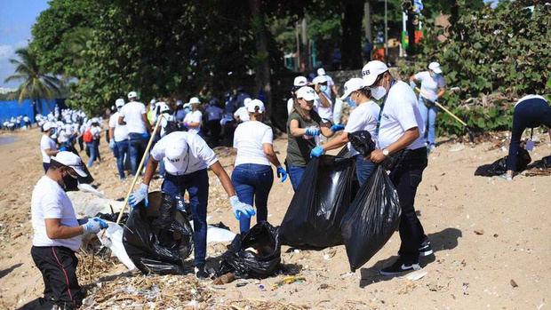 Realizan jornada de recolección de residuos en más de 100 playas y ríos por Día Mundial de Limpieza de Costas