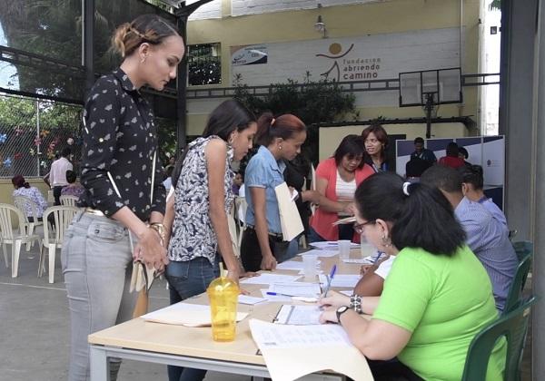 Fundación Abriendo Camino realizó su tercera Feria de Empleos en Villas Agrícolas