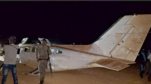Se accidenta en Pedernales una avioneta cargada de droga