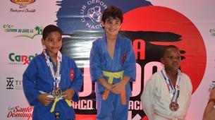 Club Naco, campeón de Copa Internacional de Judo