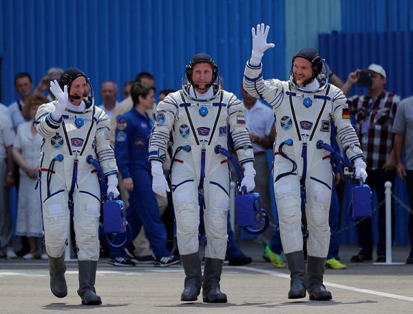 Cosmonautas en la NASA