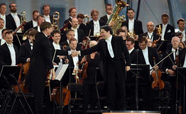 Gustavo Dudamel entusiasmó este jueves, al frente de la Filarmónica de Viena.
