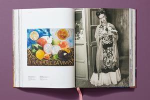 otografía sin fecha, cedida por Editorial Taschen, que muestra una imagen del libro 'Frida Kahlo'.
