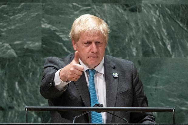 Johnson urge a que la COP26 sea un