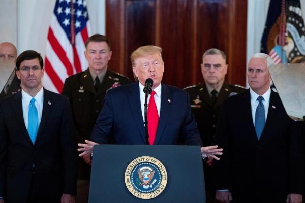 Trump anuncia poderosas sanciones a Irán.