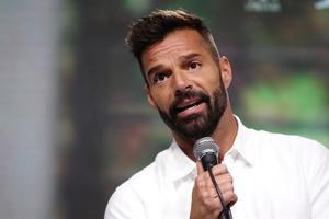 En la imagen un registro del cantante puertorriqueño Ricky Martin.