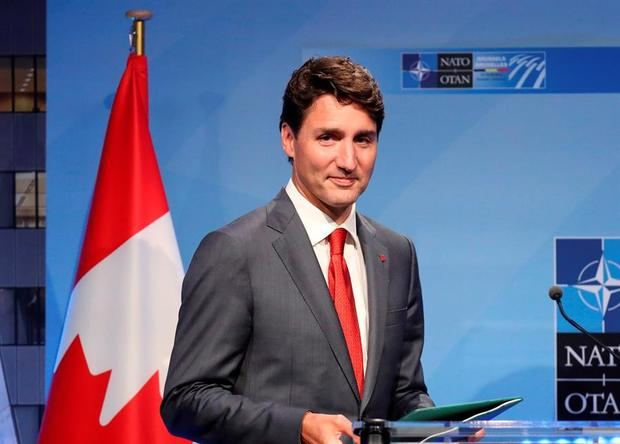 En la imagen el primer ministro canadiense, Justin Trudeau.