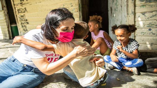 La primera dama trabajará con pasión por los menores desde la presidencia del Gabinete de Niñez y Adolescencia