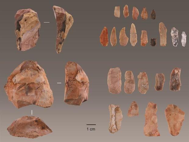 Instrumentos de piedra.