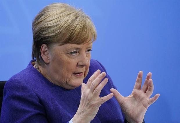 La canciler alemana, Angela Merkel.