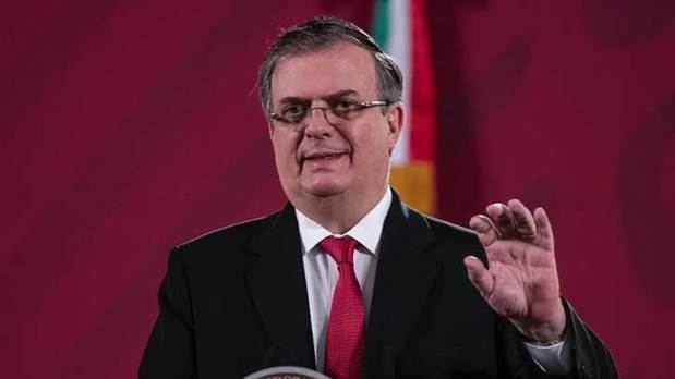 Sr. Marcelo Ebrard, Secretario de Relaciones Exteriores de México.