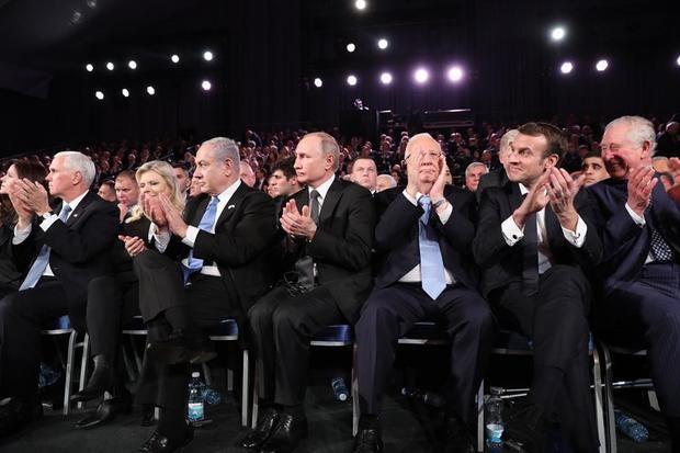 La memoria del Holocausto se politiza en histórica ceremonia en Jerusalén