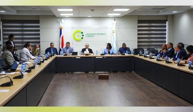 El diálogo del Consejo Económico y Social concluyó con el acuerdo por elecciones transparentes