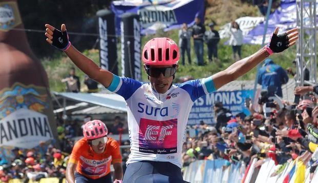 Daniel Martínez, el rostro del ciclismo y del deporte colombiano en 2020