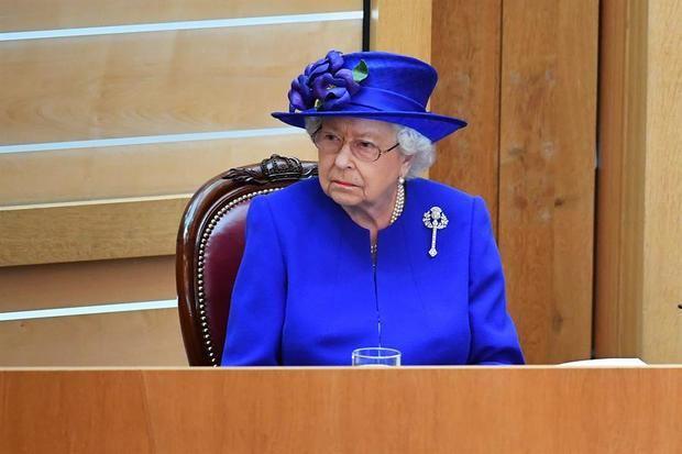 Imagen de la reina Isabel II de Inglaterra.