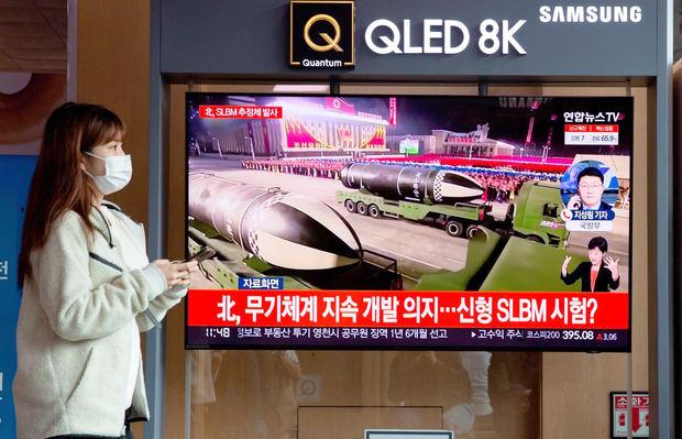 Seúl dice que Pionyang ha disparado un misil balístico en su última prueba