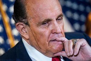 En la imagen, Rudy Giuliani, abogado del presidente de los Estados Unidos, Donald Trump.