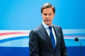Primer ministro holandés, Mark Rutte.