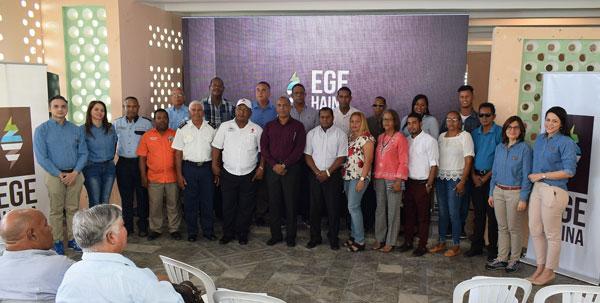 EGE Haina celebra cinco años de trabajo social en Enriquillo
