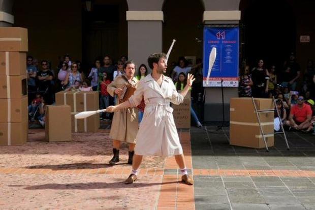 El Viejo San Juan, hogar por sexta ocasión para el arte circense callejero