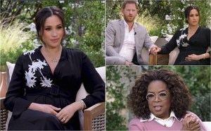 La entrevista de Meghan Markle y el Príncipe Harry con Oprah Winfrey.