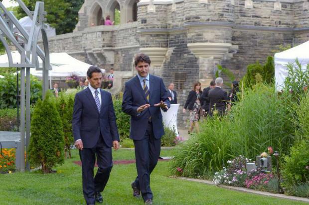 Peña Nieto y Trudeau