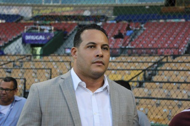 Presidente de la Federación Dominicana de Peloteros Profesionales (Fenapepro) Erick Almonte.