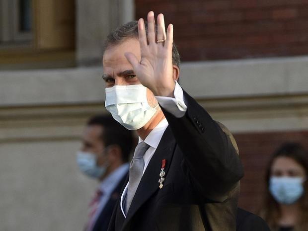 El rey Felipe VI da negativo en el último test de coronavirus pero terminará la cuarentena de 10 días
