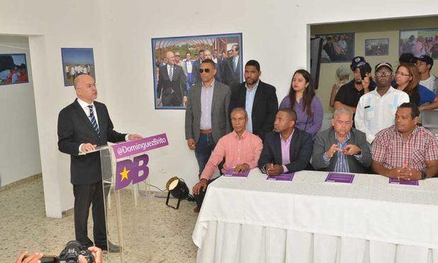 Domínguez Brito presenta propuesta gubernamental
