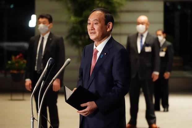 La reunión con el primer ministro de Japón, Yoshihide Suga (en la imagen), será la primera que el presidente de Estados Unidos, Joe Biden, mantendrá en persona con un líder de otro país.