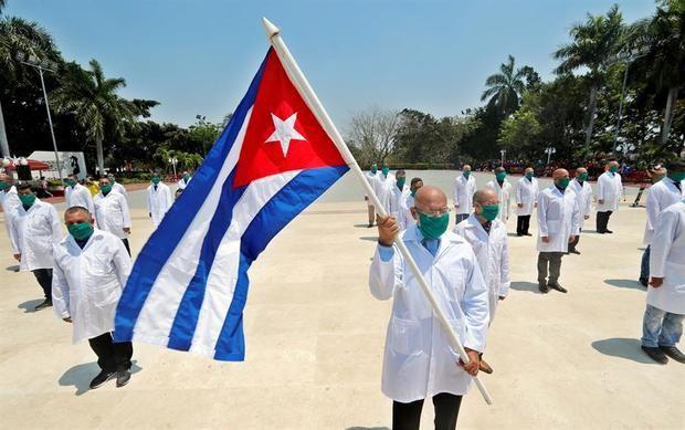 Cuba envía a Italia una segunda brigada médica para combatir el coronavirus