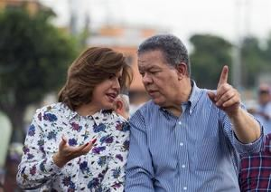 La vicepresidenta dominicana, Margarita Cedeño, llamó este jueves 'machista' a su esposo, el expresidente Leonel Fernández.