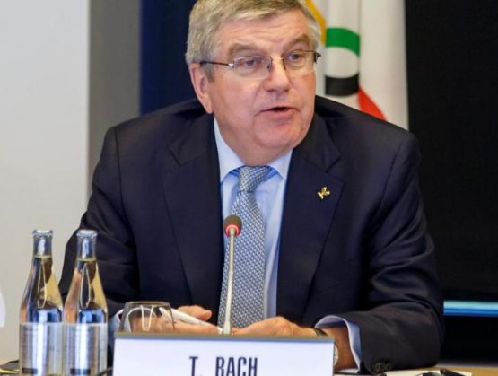 Presidente del Comité Olímpico Internacional (COI), Thomas Bach.