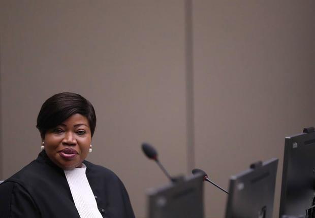 La fiscal jefe de la Corte Penal Internacional, CPI, Fatou Bensoda.