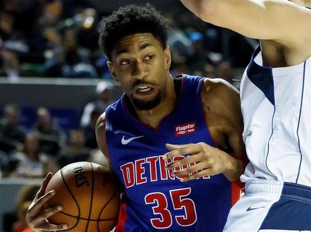 En la imagen un registro de Christian Wood, alero de los Pistons de Detroit, quien se convirtió en el tercer jugador de la NBA en dar positivo en una prueba para detectar el virus COVID-19.