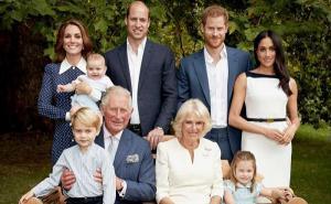 Foto familiar del príncipe Carlos