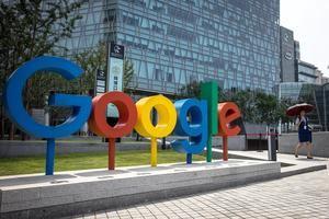 En la imagen, el logo de Google.