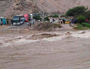 Lluvias en Perú.