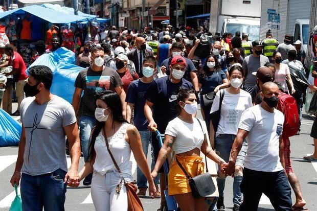Brasil camina hacia los 200.000 muertos por Covid-19