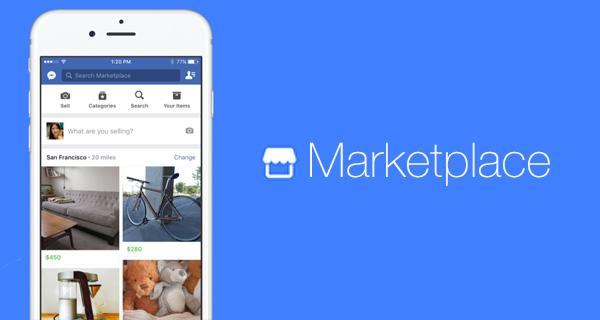 La aplicación Marketplace de Facebook llega al país