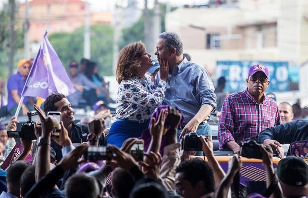 Fernández y Cedeño, casados y rivales en las urnas dominicanas