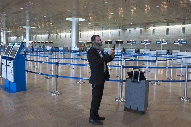 Israel cierra su aeropuerto internacional para evitar ingreso de nuevas cepas