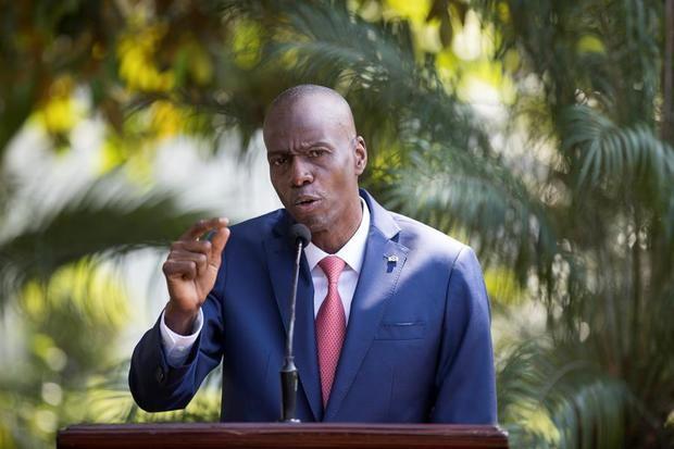El presidente haitiano Jovenel Moise.
